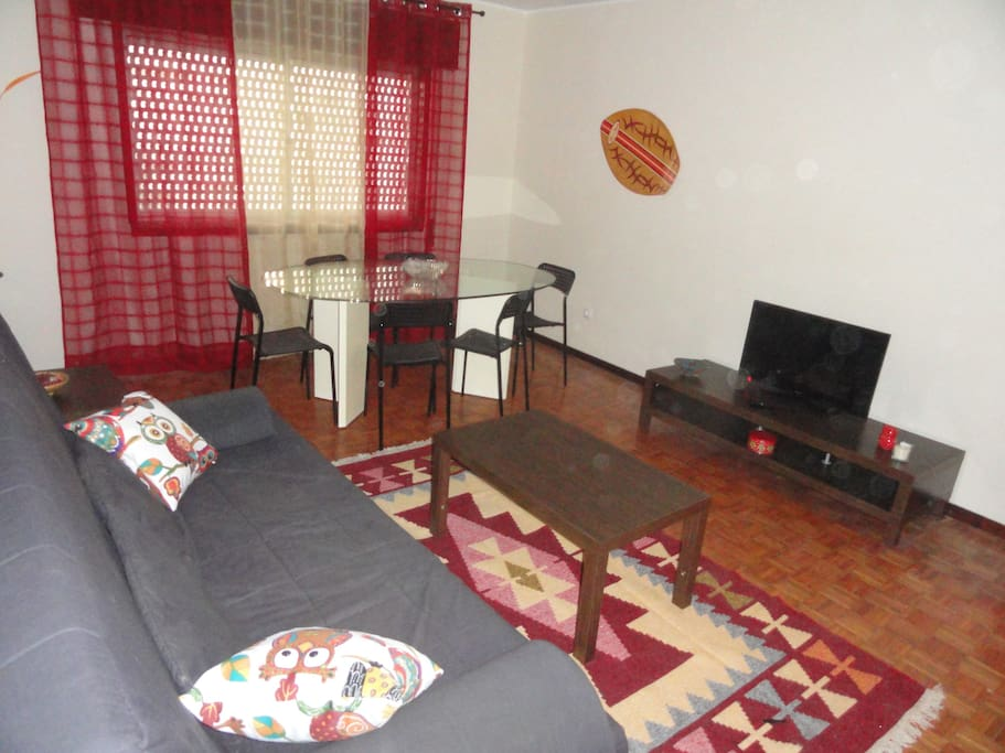 Sala de estar Living and dinning room