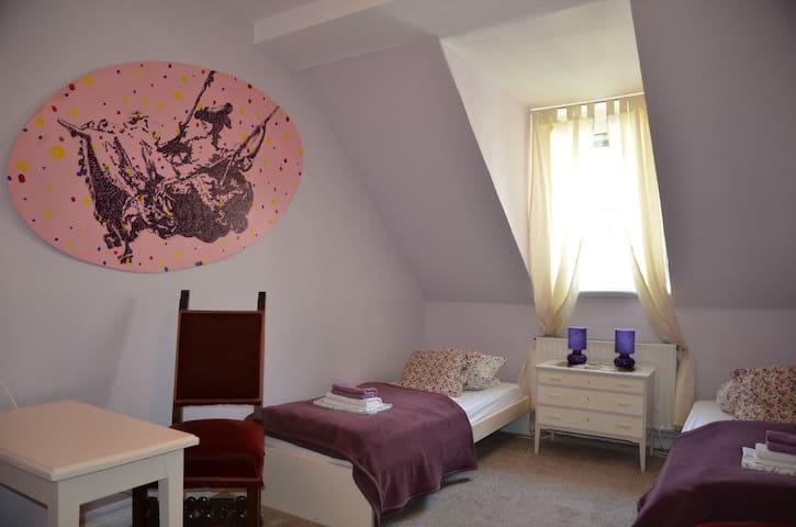 Gästehaus ARTE |P|  73  Zimmer Violett - Bremen - Casa de huéspedes