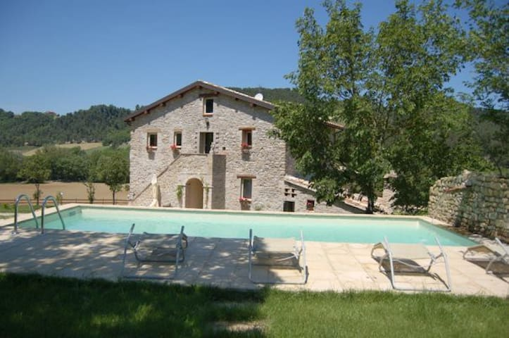17th century old VILLA pool&hot tub - Collazzone - Villa