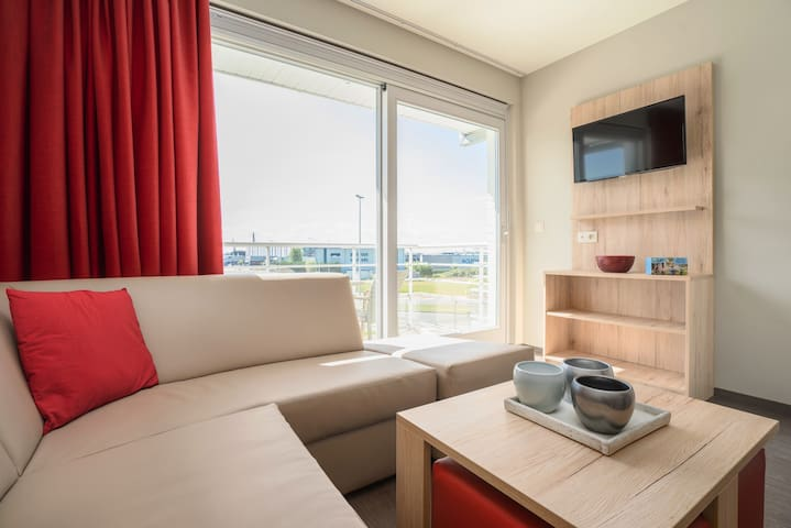 Apartment close to the Zeebrugge harbour