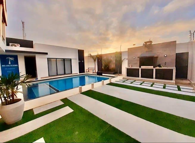 Casa vacacional🏝ambiente de distinción y confort 🌊