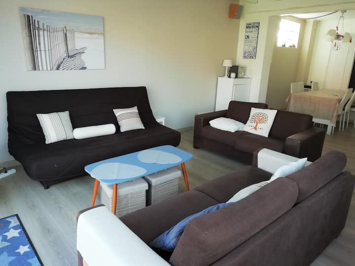 Large family house 12 pers near the sea- Berck/Mer