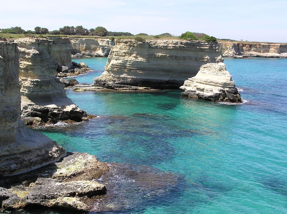 Torre Sant'Andrea, an incredible scenery to dive in!