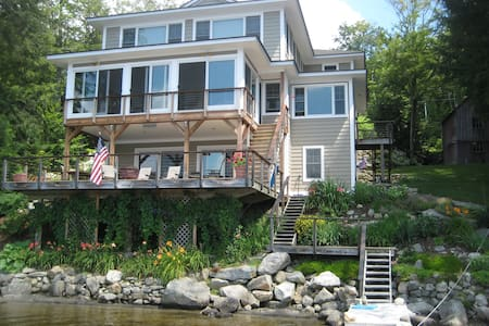 Luxury, lakefront home in NH - Enfield