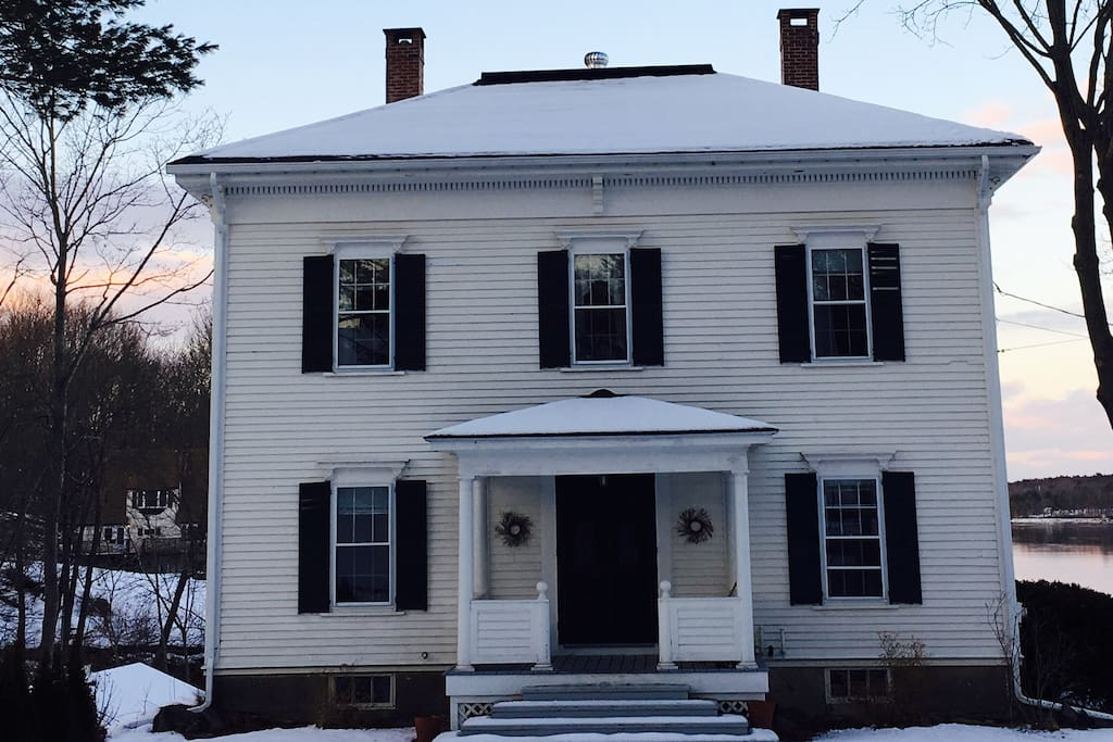 1840's Elegance on the Kennebec