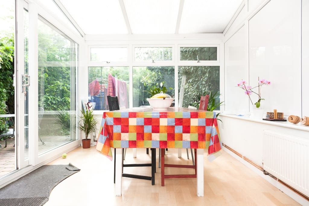 conservatory dining room perfect for breakfast
