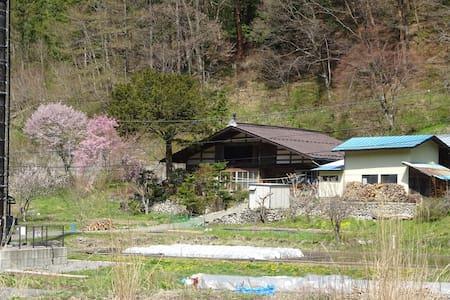 古民家民宿おおたき一泊2食付¥6000+税一日一組限定で最寄駅送迎付きです
