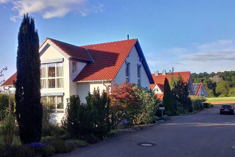 ruhige Wohngegend mit ausschließlich Ein- & Zweifamilienhäusern
