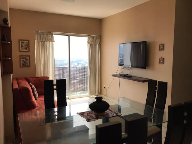 Apartamento con excelente vista cerca de Polanco
