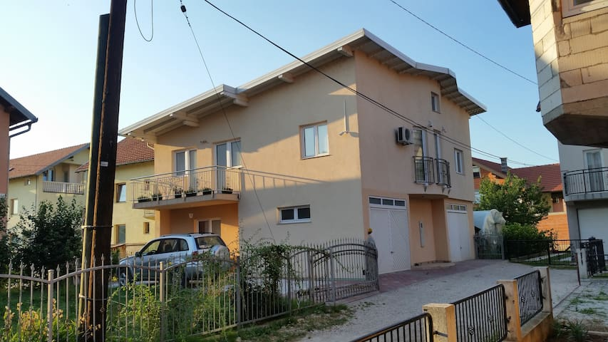 Big comfortable house with garden in Sarajevo