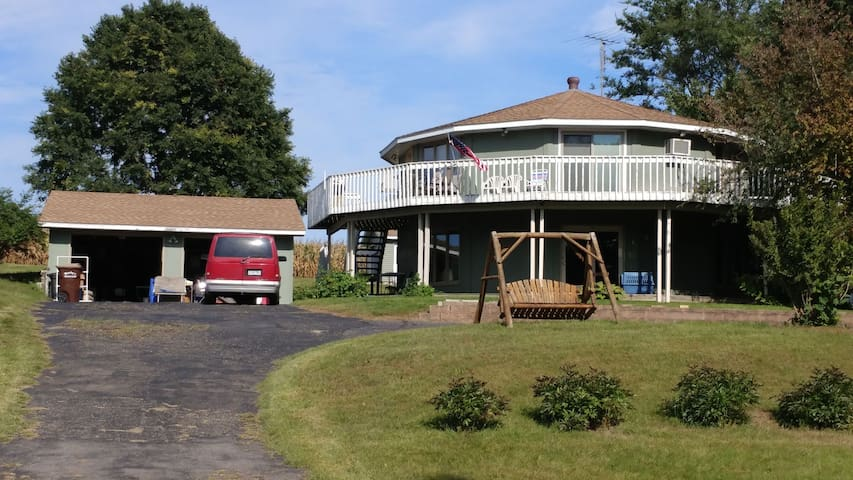 Unique Private Home Just off Cedar Lake