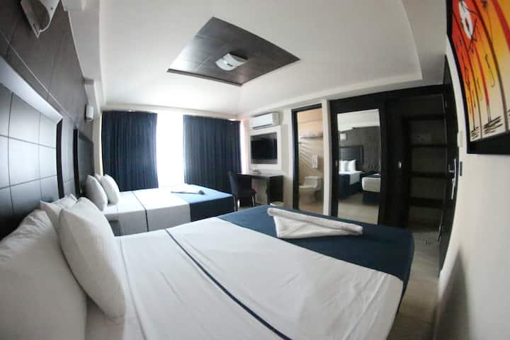 Habitación Doble Desayuno Incluido - Zona Malecón