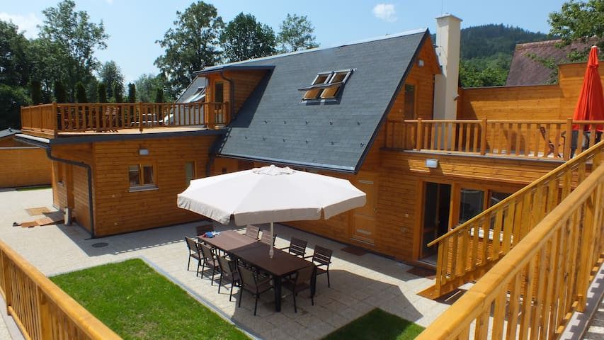 Angel Country Apartments ap.2 - Česká Ves - Hytte (i sveitsisk stil)
