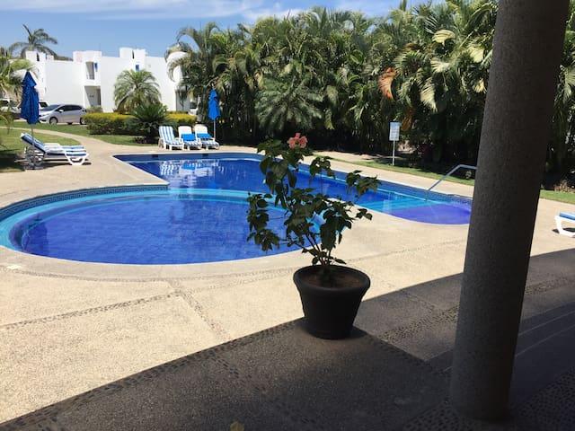 Casa con alberca económica  sencill - Bahía de banderas  - บ้าน