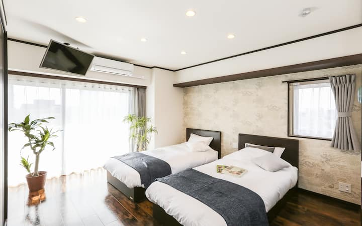 [#302]Clean&Convenient/ 4 minutes to Nagoya sta.