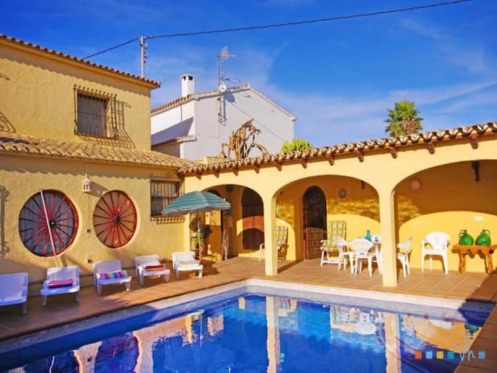 SAMARUC - Rental for 6 people in a rural area of Benissa