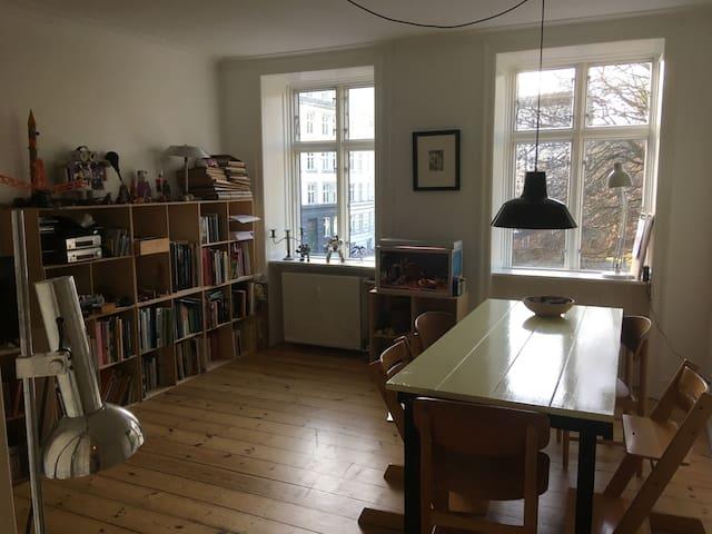 Ideel til familie eller par på indre Nørrebro