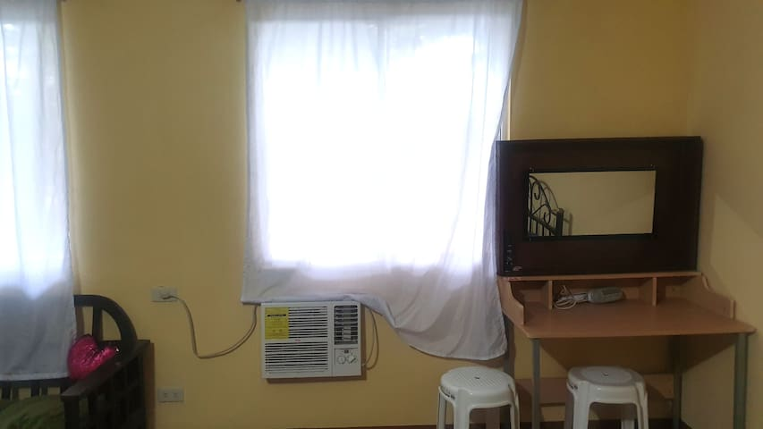 Studio Type condo unit for transient rental