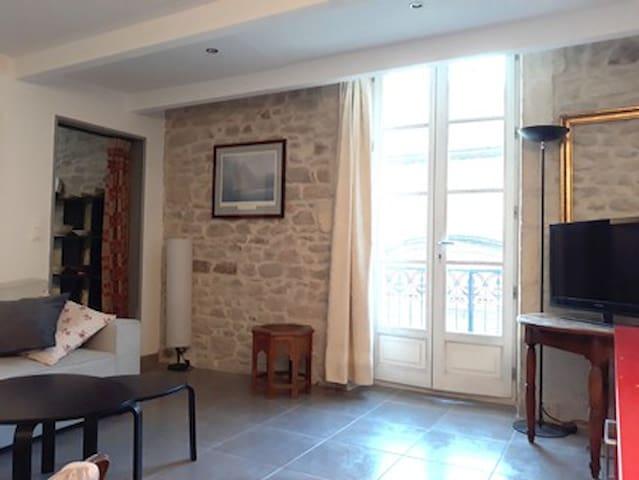 Appartement climatisé/ Parking/centre historique