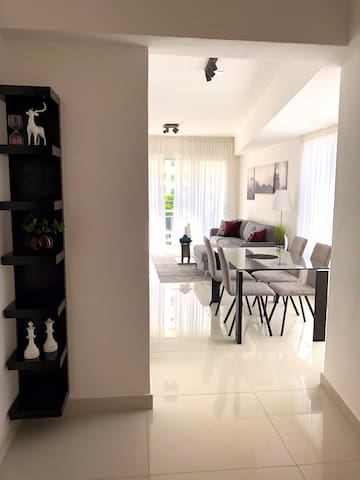 Luxury apartment with pool and gym in Naco