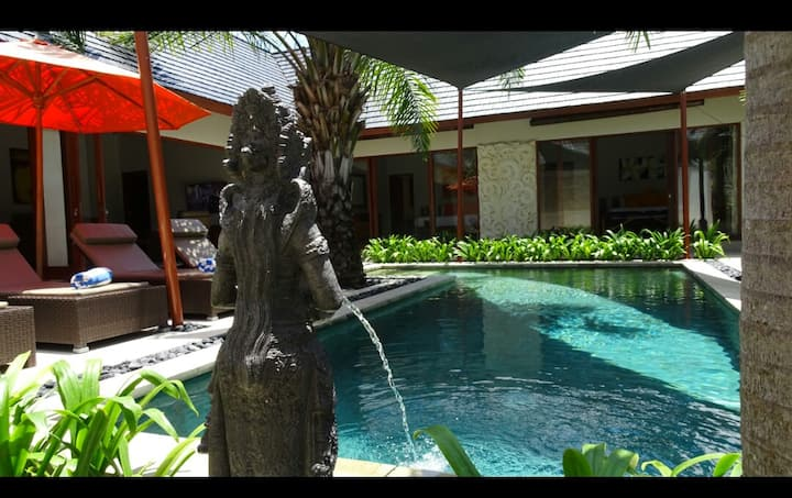 3 Br Tranquil Holiday Villa in the heart of Sanur