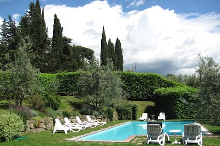 "Apartement in winefarm ""Barbara"" - Greve in Chianti"