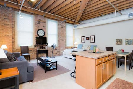 Luxury Loft Studio/Old Town :410 - Chicago - Loft