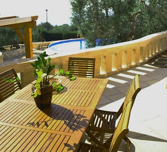 Villa with 2 rooms,patio and pool - Province of Lecce - Villa
