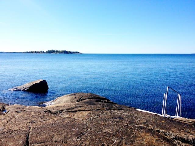 Havsnära sommarstuga - Karlshamn - Cabaña