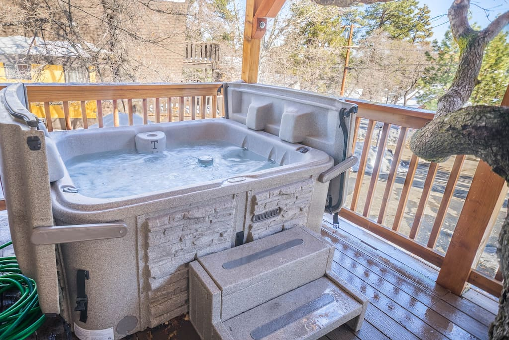 Big Bear Cabin Hot Tub Game Room Case In Affitto A