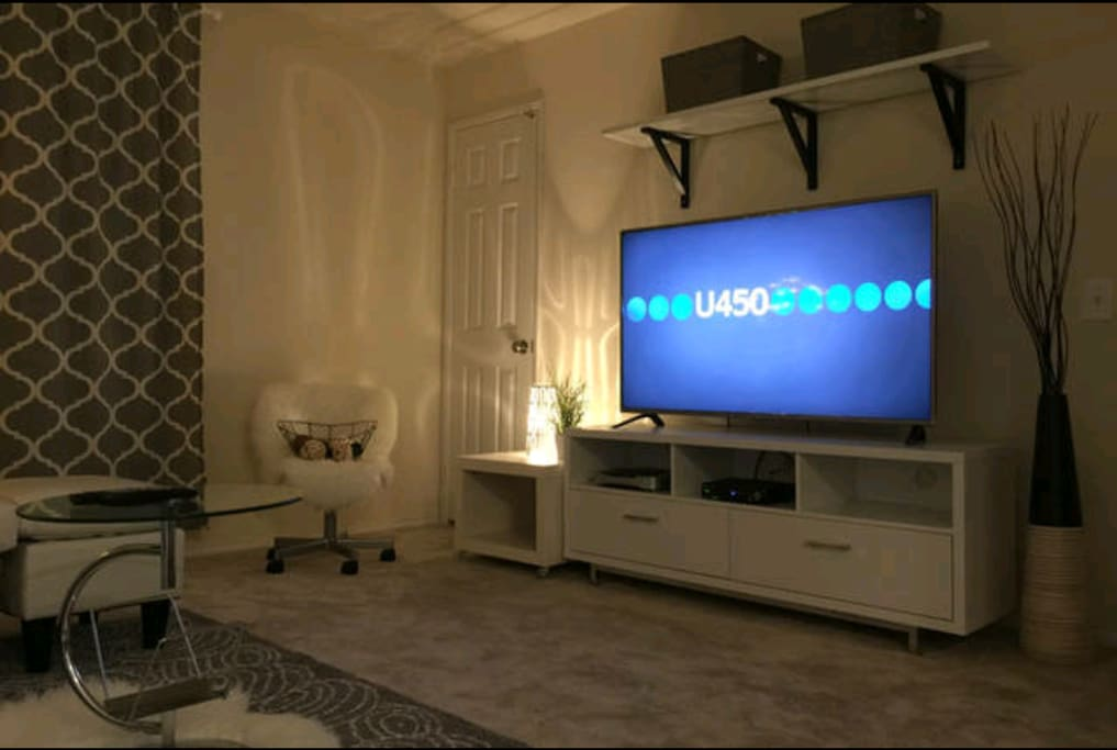 60' smart tv where you can stream netflix and tons of movies