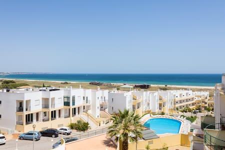Meia-Praia Strand Apartment mit panorama Meerblick - Lagos - Lejlighed