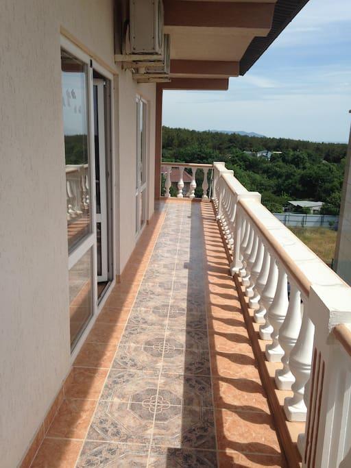 Терраса-балкон