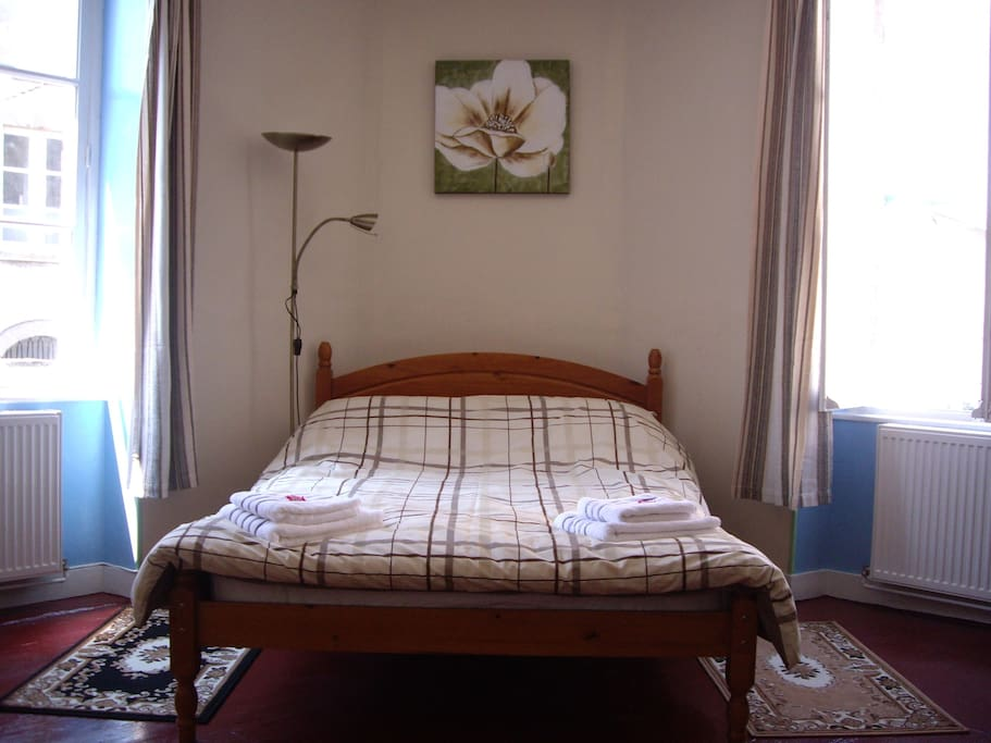 ROOM 2 is a comfortable Double bed in a large room with en-suite bathroom.