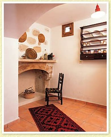 Cretan traditional villa - Kato Archanes - Huis