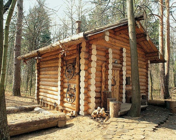 Дом-шале с камином под Звенигородом - Zvenigorod - Шале