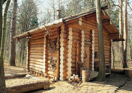 Дом-шале с камином под Звенигородом - Zvenigorod - 牧人小屋