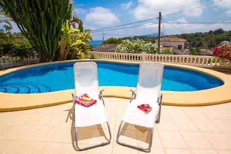 Villa privada con con vista al mar - Benissa