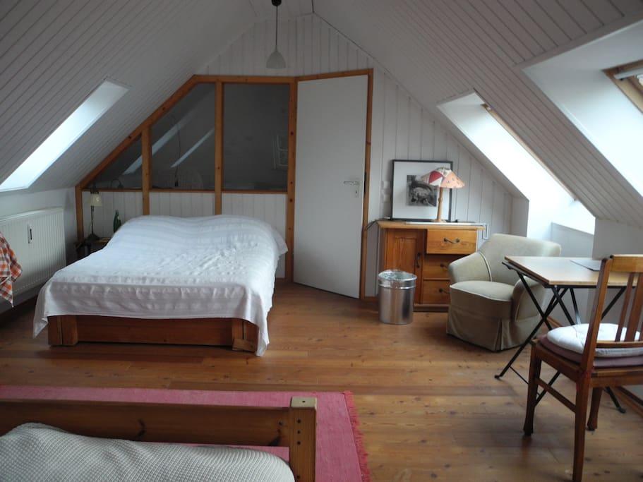 Gästezimmer 2. Etage , Doppelbett