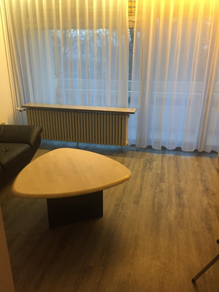 Zentral gelegene 1 Zimmerwohnung (1 Bett)