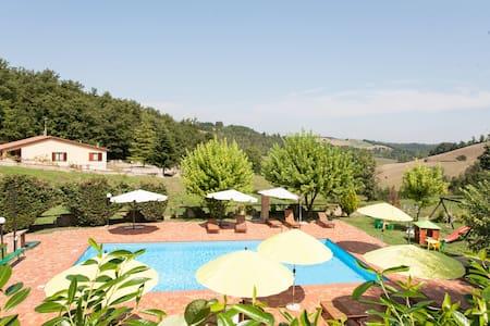 Flat with pool in Umbria - Tuscany - Fabro - Apartamento
