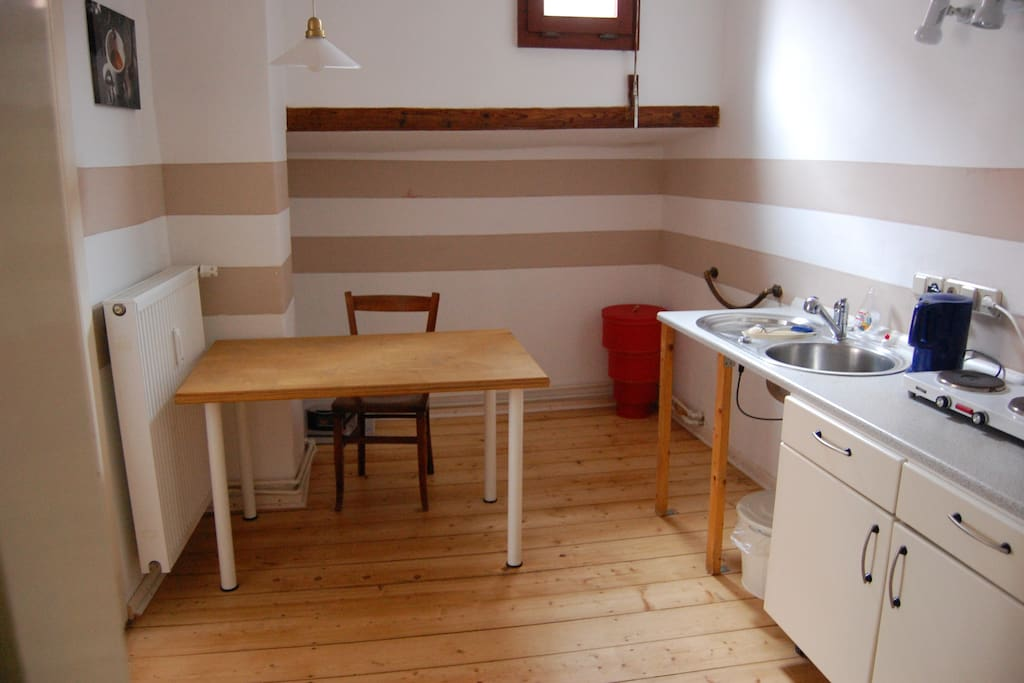 kitchen for our guests, fully equipped