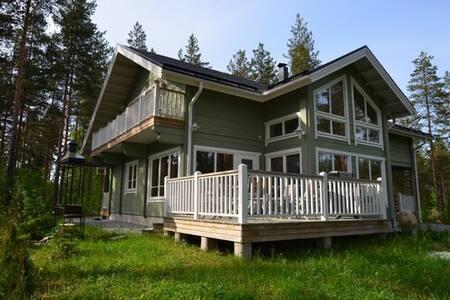 New Log Villa Genrieta in Golf Club - House