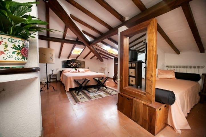 DomusSocolatae  Charming B&B Follonica Attic Suite