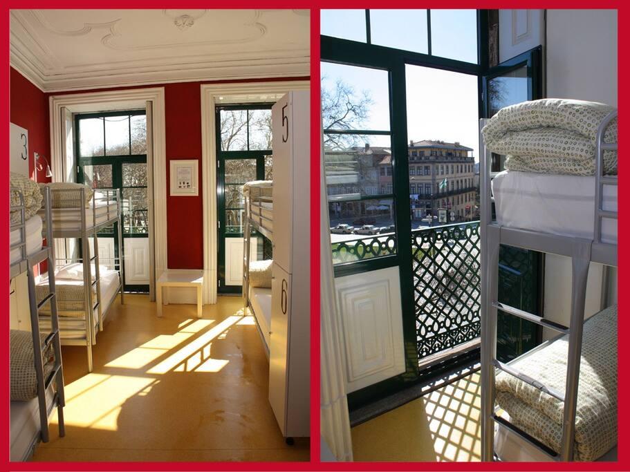 wine hostel lit en dort 6 ensuite auberges de jeunesse louer porto district de porto. Black Bedroom Furniture Sets. Home Design Ideas