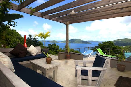 Private Villa, HotTub,Amazing Views - Tortola - Haus