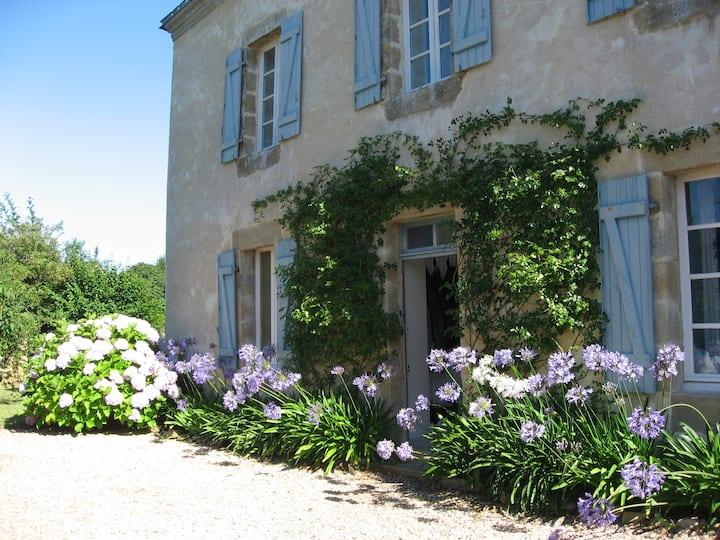 Charmante maison, ile d'Arz, Morbihan