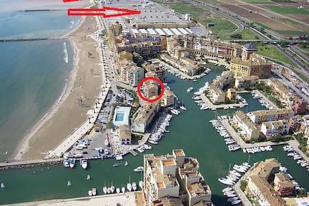 Apto. Port Saplaya -Vistar mar- Primera linea - València