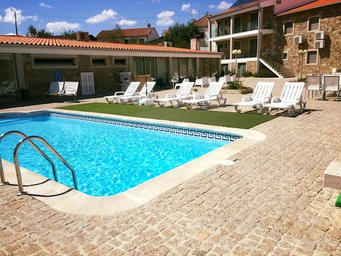 House with 2 bedrooms in Miranda do Douro, with shared pool and WiFi