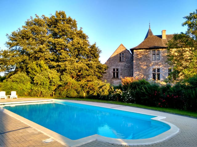 Rejuvenate at your own private Chateau with Pool